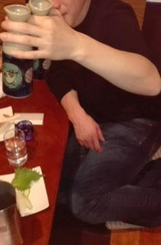 アリスグループと取手で乾杯w