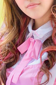 ピンク色のメイド服を着てお仕事♪メイドさん大募集中☆