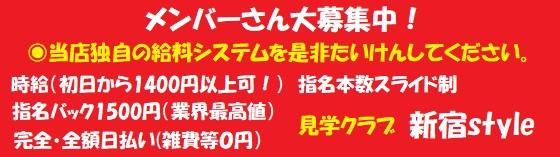 見学店 新宿スタイル 新宿/大久保/高田馬場 見学店